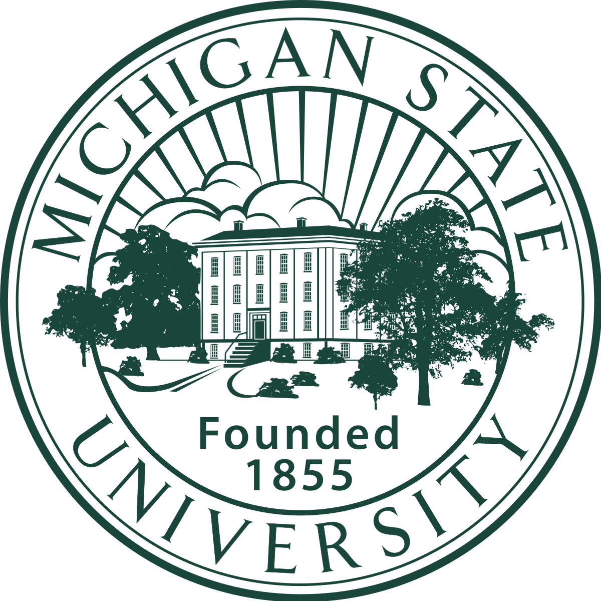 Michigan State University 로고